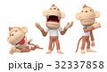 さるキャラクター 3Dイラスト 32337858