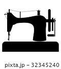裁縫 マシン マシーンのイラスト 32345240
