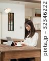 女性 仕事 リモートワークの写真 32346222