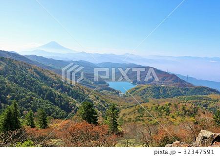 山梨県 大菩薩峠からの眺望 32347591