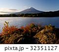 富士山 秋 夜明けの写真 32351127