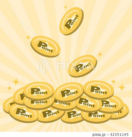 ポイント コイン 32351145