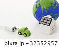 電気自動車 エコ 太陽光発電の写真 32352957