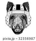 動物 野生 野生化のイラスト 32356987