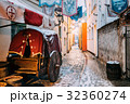 Riga, Latvia. Traditional Old Medieval Cart Is In 32360274
