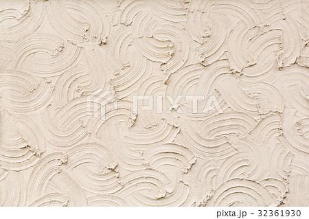 波模様のモルタル壁 32361930