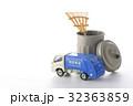 働く車、清掃車 32363859