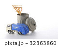 働く車、清掃車 32363860