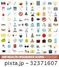 100 100 健康のイラスト 32371607