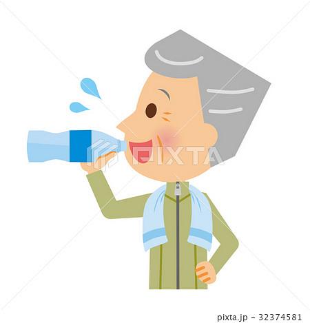 水分補給 シニア 32374581
