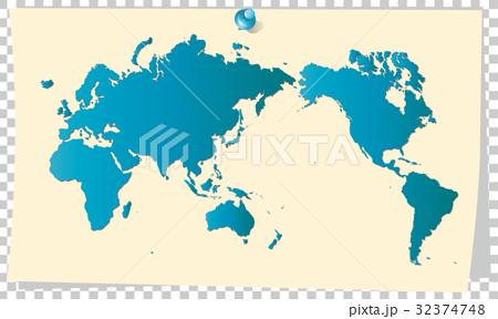 世界地図 memo5 32374748
