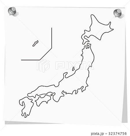 日本地図 memo 3 32374756