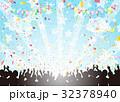 紙吹雪 ライブ フェスティバルのイラスト 32378940