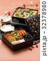 三段重 正月料理 おせち料理の写真 32378980