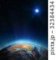 プラネット 惑星 地球のイラスト 32384434