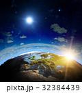 惑星 地球 スペースのイラスト 32384439