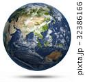 Asia and Australia world map 32386166