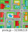 地図 ストリート 街路のイラスト 32386219