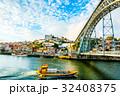 ポルト 旧市街 ドウロ川の写真 32408375