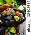 蟹 ムール貝 ムラサキイガイの写真 32408632