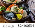 蟹 ムール貝 ムラサキイガイの写真 32408634