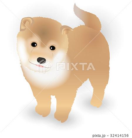 犬 年賀状 かわいい アイコン のイラスト素材 32414156 Pixta