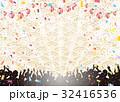 観客 花火 提灯のイラスト 32416536