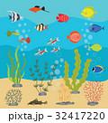 アクアリウム 水族園 水族館のイラスト 32417220