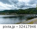 嵐山 渡月橋 橋の写真 32417946
