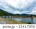 嵐山 渡月橋 京都の写真 32417950