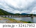 嵐山 渡月橋 橋の写真 32417952