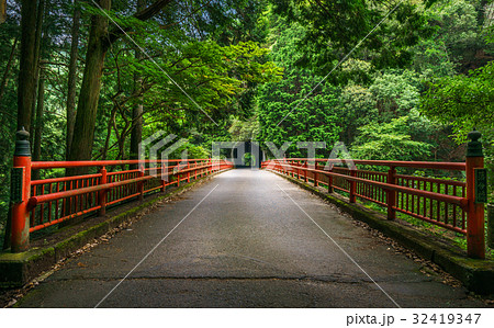 京都 落合橋 32419347