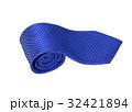 白背景 ネクタイ 結びの写真 32421894