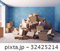 箱 積み重ね ダンボールのイラスト 32425214