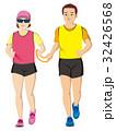 視覚障害者マラソン男女 32426568