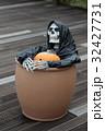 ハロウィンのお化けガイコツ 32427731