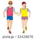 視覚障害者マラソン男女 32428676