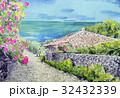 沖縄 海 民家 竹富島 32432339