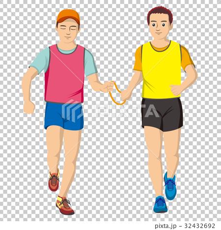 視障者 馬拉松賽跑 人 32432692