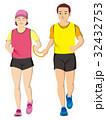 視覚障害者マラソン男女 32432753