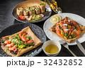 そば粉のクレープ ガレット  galette French food 32432852