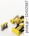 建設 建築 工事 土木 作業員 人形 工事現場 32432987