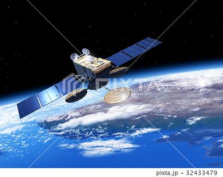 地球観測衛星2 32433479
