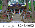関東のパワースポット 三峯神社 拝殿  32434952