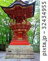 関東のパワースポット 三峯神社 八棟灯籠  32434955