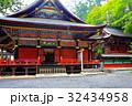 関東のパワースポット 三峯神社 拝殿 本殿  32434958