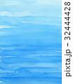水色の水彩テクスチャ 背景 32444428