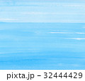 水色の水彩テクスチャ 背景 32444429