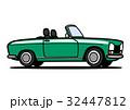 ベクター 自動車 オープンカーのイラスト 32447812