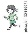 ジョギング 高齢者 32449974